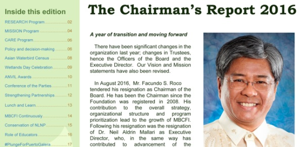Chairmans Report